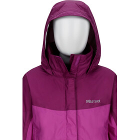 Marmot PreCip Jacket Jenter neon berry/grape